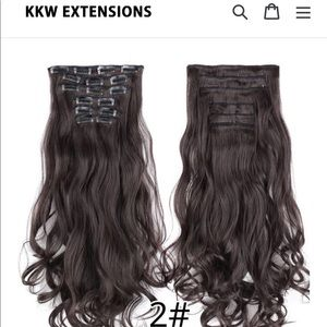 Other - KKW hair extensions 22'' brand new